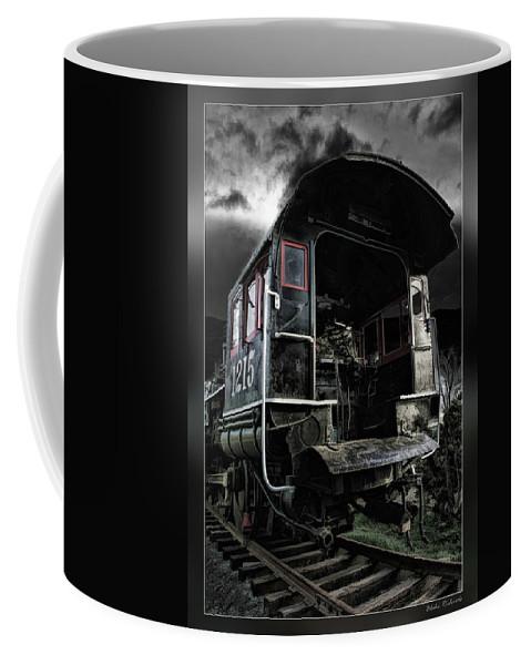 Train Coffee Mug featuring the photograph Engine 1215 by Blake Richards