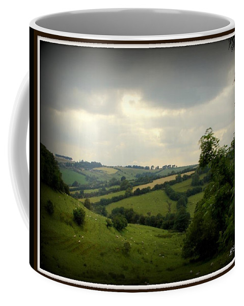 England Coffee Mug featuring the photograph English Countryside by Priscilla Richardson