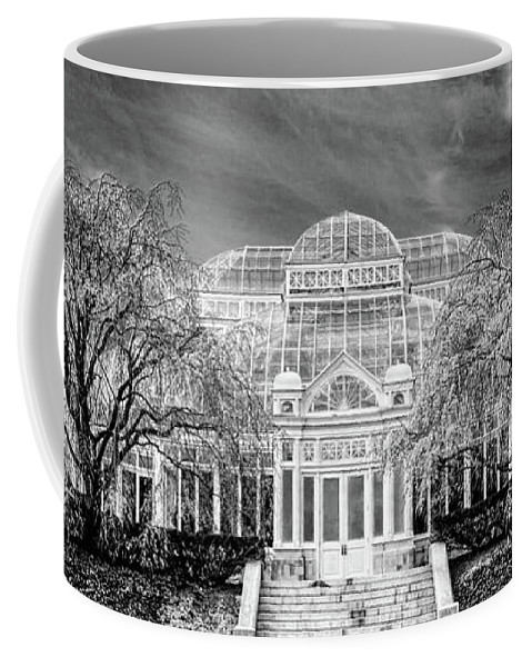 Conservatory Coffee Mug featuring the photograph Enid A Haupt Conservatory by Chris Lord