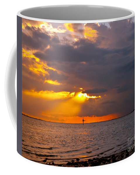 Sunset Coffee Mug featuring the photograph Enlightenment by Stephen Whalen