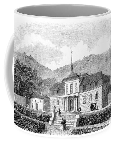 1860 Coffee Mug featuring the photograph Escorial: Princes House by Granger