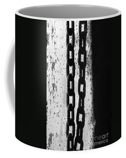 Chain Coffee Mug featuring the photograph Etch by Luke Moore