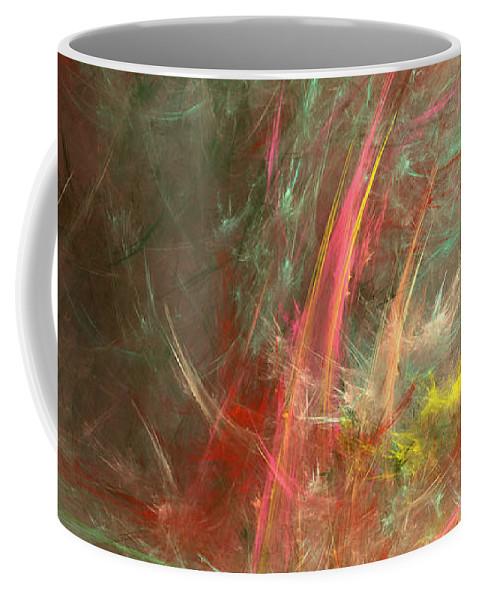 Storm Coffee Mug featuring the digital art Eveil-5 by RochVanh
