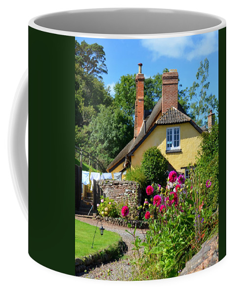 England Coffee Mug featuring the photograph Everyday Life In Somerset by Carla Parris