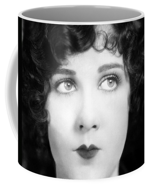 1930s Coffee Mug featuring the photograph Eyes: Mary Brian by Granger