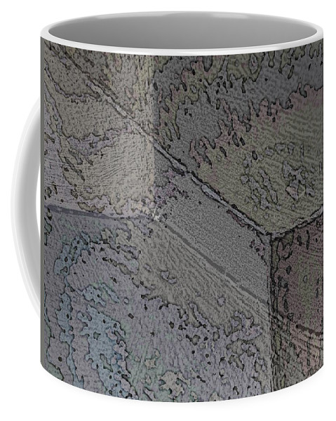 Abstract Coffee Mug featuring the photograph Facade 1 by Tim Allen