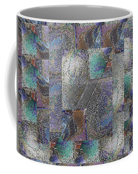 Abstract Coffee Mug featuring the digital art Facade 15 by Tim Allen