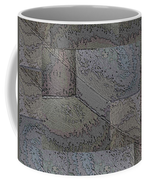 Abstract Coffee Mug featuring the photograph Facade 2 by Tim Allen