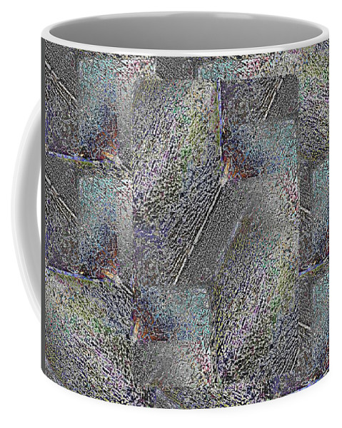 Abstract Coffee Mug featuring the digital art Facade 9 by Tim Allen