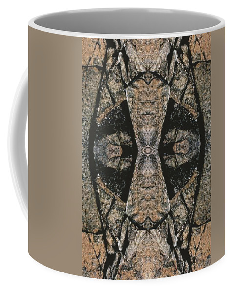 Rocks Coffee Mug featuring the photograph Face Within Face Wells Rock by Nancy Griswold