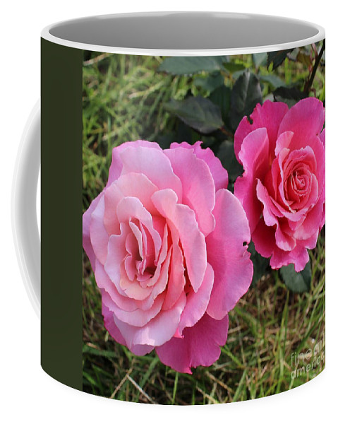 Faded Love Coffee Mug featuring the photograph Faded Love Square by Barbara Griffin