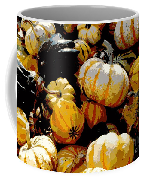 Fall Vegetables Coffee Mug featuring the photograph Fall Bounty by Carol Groenen