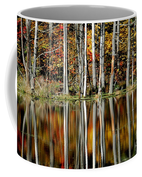 Fall Coffee Mug featuring the photograph Fall In New York by Mark Gilman