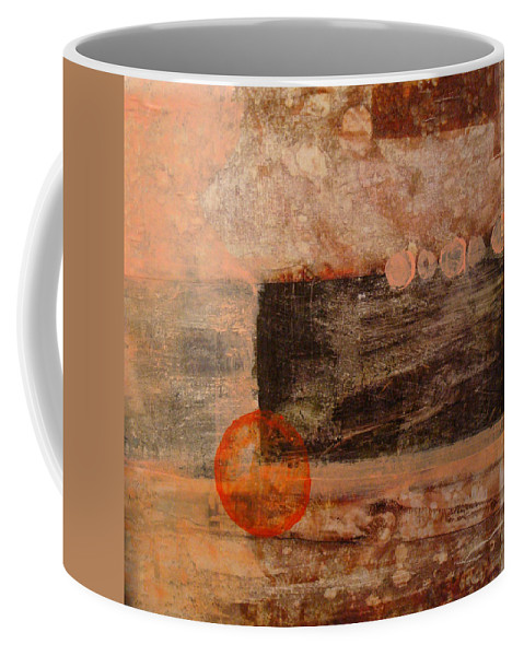 Coffee Mug featuring the painting Fall by Ronald Brischetto