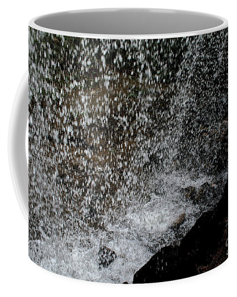 Outdoors Coffee Mug featuring the photograph Fall's Backside by Susan Herber
