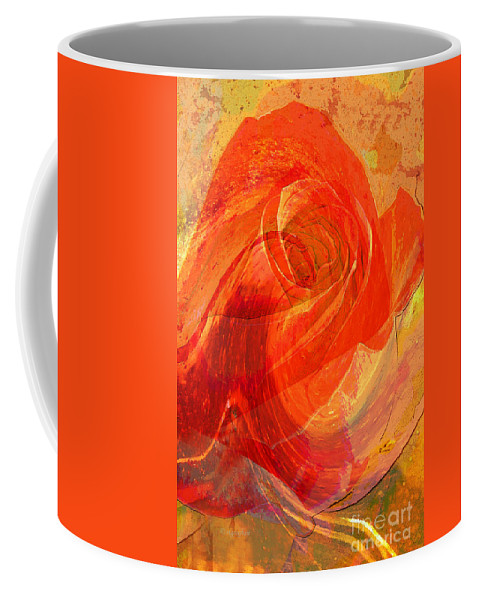 Rose Coffee Mug featuring the photograph Fanciful Flowers - Rose by Regina Geoghan