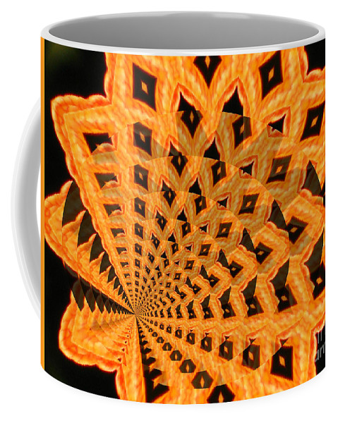 Digital Art Coffee Mug featuring the photograph Fancy Coral by Donna Brown