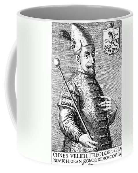 16th Century Coffee Mug featuring the photograph Feodor I Ivanovich by Granger