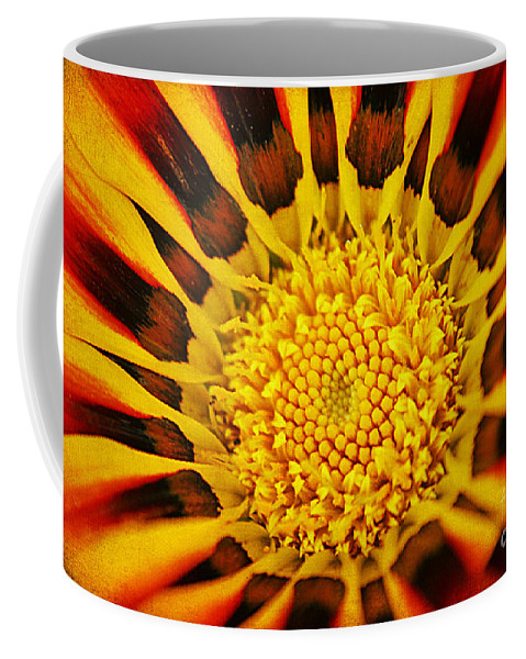 Abstract Coffee Mug featuring the photograph Fiery Passion II by Darren Fisher