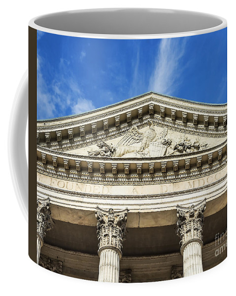 Americana Coffee Mug featuring the photograph First Bank Of The Usa by John Greim