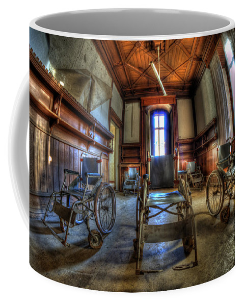 Abandoned Coffee Mug featuring the photograph Five Go Mad For Wheels by Nathan Wright