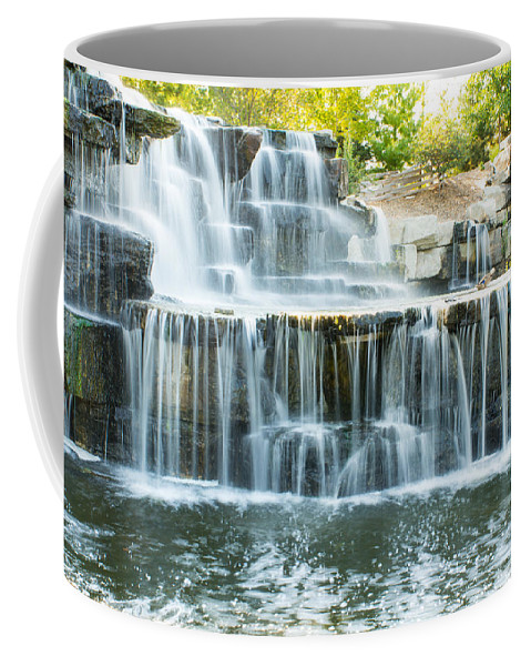 Bay Beach Wildlife Sanctuary Coffee Mug featuring the photograph Flowing Beauty by Bill Pevlor