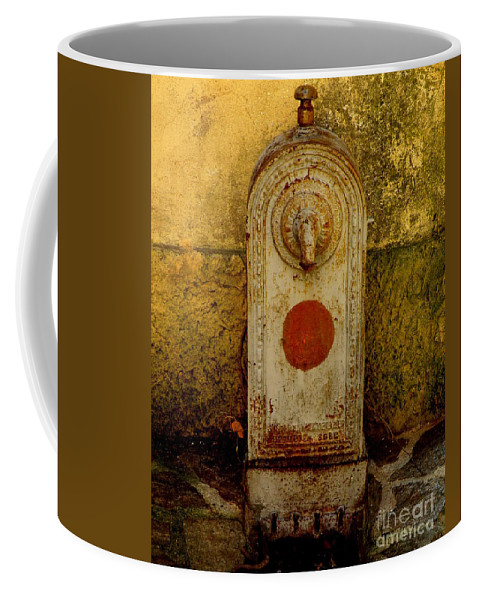 Water Fountain Coffee Mug featuring the photograph Fontaine D'eau by Lainie Wrightson