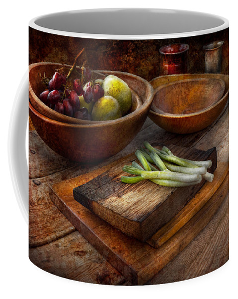 Chef Coffee Mug featuring the photograph Food - Vegetable - Garden Variety by Mike Savad