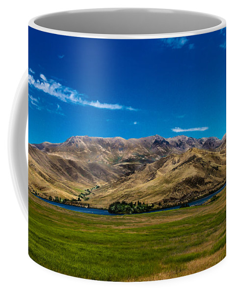Landsacape Coffee Mug featuring the photograph Foothills by Robert Bales