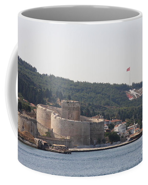 Fortress Coffee Mug featuring the photograph Fortress Canakkale And War Memoriel - Dardanelles by Christiane Schulze Art And Photography