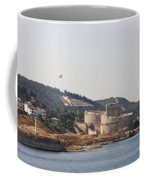 Fortress Coffee Mug featuring the photograph Fortress Canakkale - Dardanelles by Christiane Schulze Art And Photography