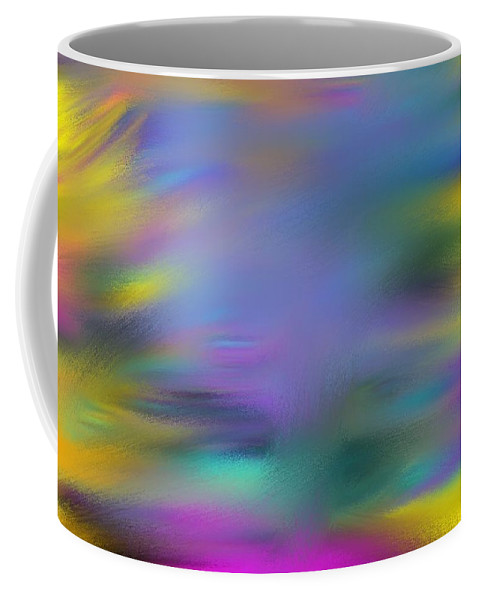Fountain Coffee Mug featuring the painting Fountain Of Youth by George Pedro
