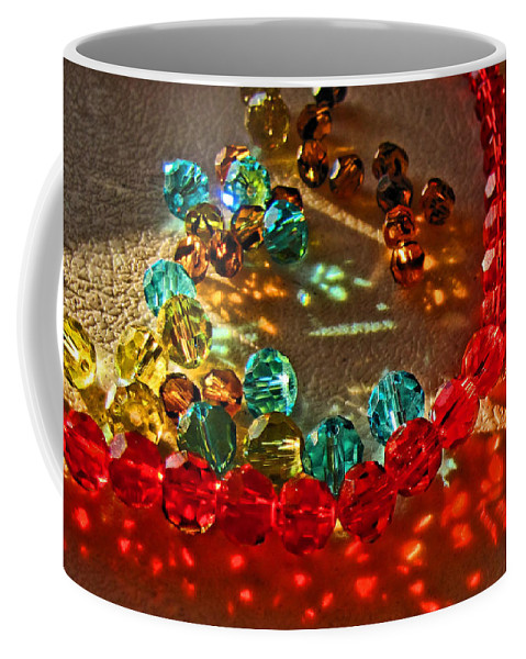Crystals Coffee Mug featuring the photograph Fractured Light I by Debbie Portwood