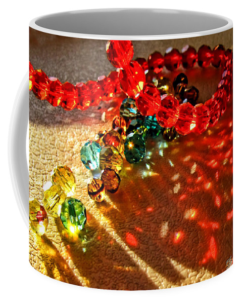 Crystals Coffee Mug featuring the photograph Fractured Light II by Debbie Portwood