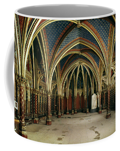 13th Century Coffee Mug featuring the photograph France: Ste. Chapelle by Granger