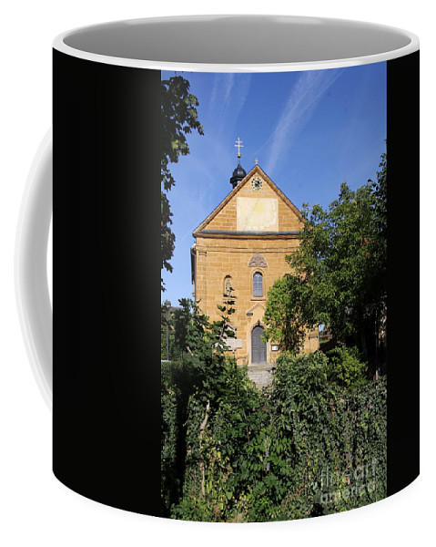 Franconian Church Coffee Mug featuring the photograph Franconian Village Church by Christiane Schulze Art And Photography