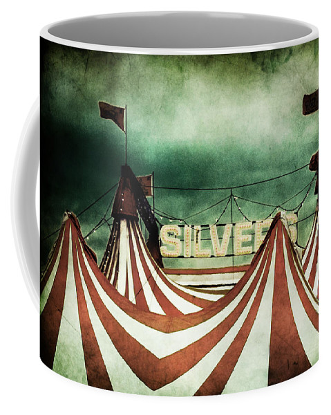 Circus Coffee Mug featuring the photograph Freak Show by Andrew Paranavitana