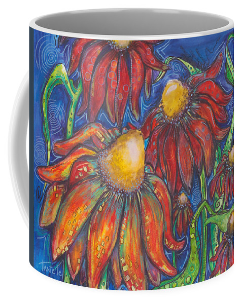 Nature Coffee Mug featuring the painting Freedom by Tanielle Childers