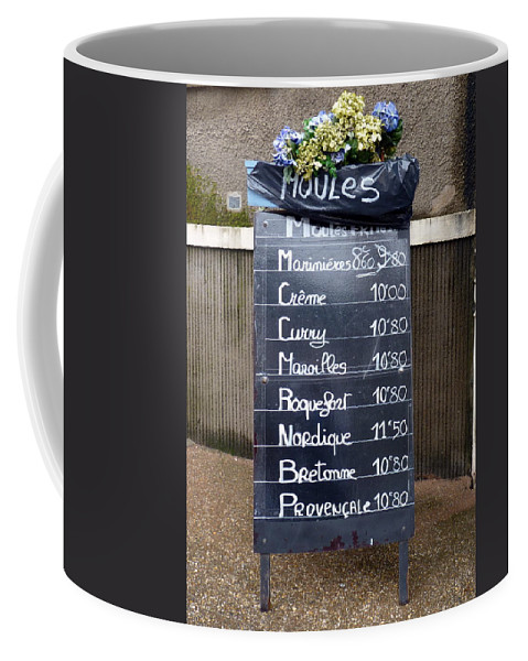 Mussels Coffee Mug featuring the photograph French Mussels by Carla Parris