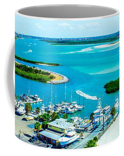 Daytona Beach Coffee Mug featuring the photograph From The Top by Shannon Harrington