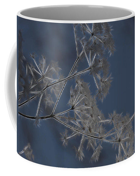 Weeds Coffee Mug featuring the photograph Frosty Weeds by Ericamaxine Price