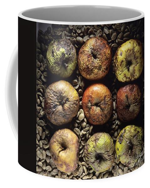 Vitamins Coffee Mug featuring the photograph Frozen Apples by Bernard Jaubert