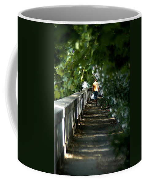 Italy Coffee Mug featuring the photograph Fume Tevere by Joseph Yarbrough