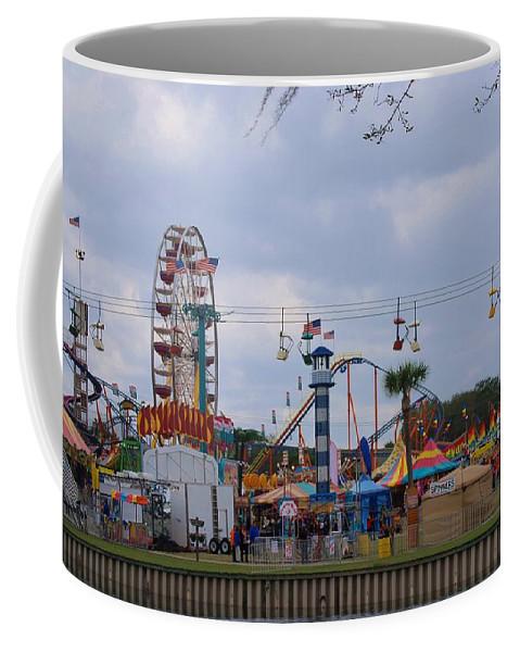 Forida Coffee Mug featuring the photograph Fun At The Fair by Judy Hall-Folde
