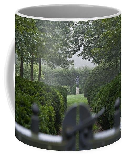 Delaware Coffee Mug featuring the photograph Garden Gate by John Greim