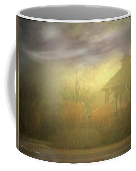 Gazebo Coffee Mug featuring the photograph Gazebo Rain by Joyce Dickens