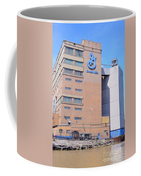 General Coffee Mug featuring the photograph General Mills by Kathleen Struckle