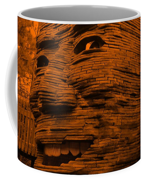 Architecture Coffee Mug featuring the photograph Gentle Giant In Orange by Rob Hans