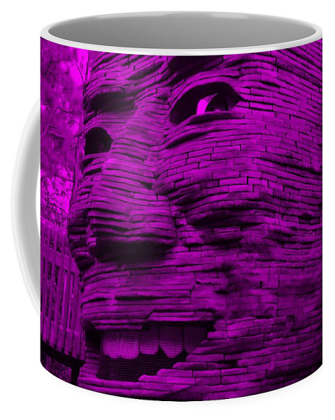 Architecture Coffee Mug featuring the photograph Gentle Giant In Purple by Rob Hans