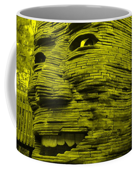 Architecture Coffee Mug featuring the photograph Gentle Giant In Yellow by Rob Hans